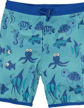Smafolk Smafolk Swim zwembroek Fishes Air Blue