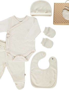 Smafolk GOTS. Newborn Set Cream