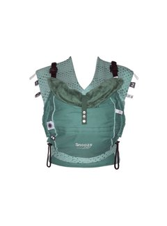Snoozebaby Snoozebaby Kiss & Carry draagzak Forest Green