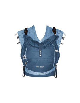 Snoozebaby Snoozebaby draagzak  Kiss & Carry Indigo Blue