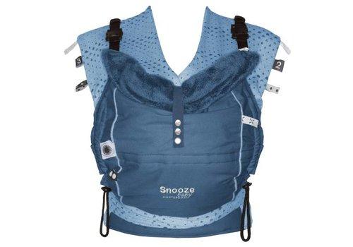 Snoozebaby Snoozebaby draagzak  Kiss & Carry Indigo Blue