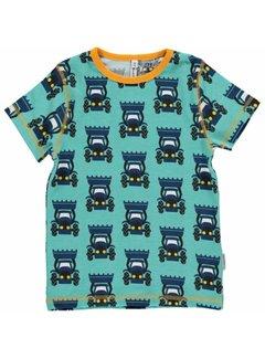 Maxomorra Maxomorra Shirt korte mouwen TRACTOR