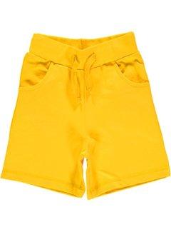 Maxomorra Maxomorra Sweatshorts Knee Yellow