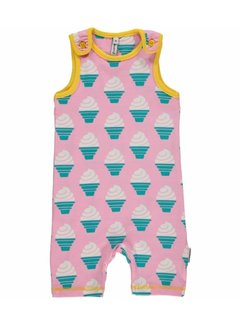Maxomorra Maxomorra Playsuit Short ICECREAM