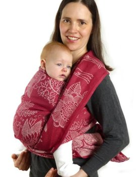 Didymos Magic Forest Crimson Hemp