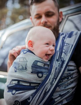 Didymos Didymos Van Parade night blue