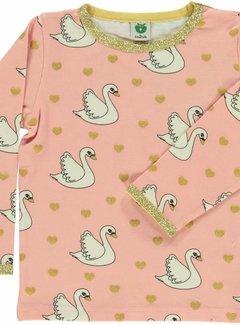 Smafolk T-shirt with swan