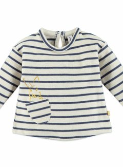 Babyface  Babyface baby girls t-shirt l.sl. OFFWHITE MELEE