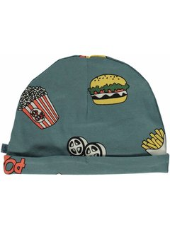 Smafolk Smafolk  Beanie hood with cinema Bluestone