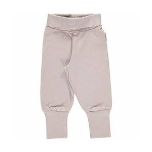 Maxomorra Maxomorra Pants Rib Grey.