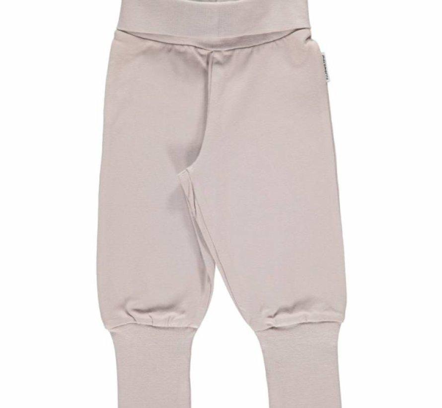 Maxomorra Pants Rib Grey.