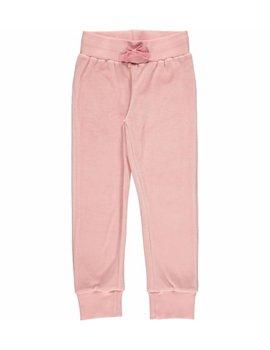 Maxomorra Maxomorra Pants Velour Pink