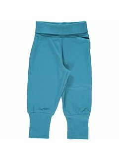 Maxomorra Maxomorra Pants Rib Blue