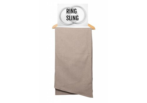 Pure Baby Love Pure Baby Love ring sling Taupe