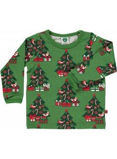 Smafolk Smafolk kerst trui met kerstbomen