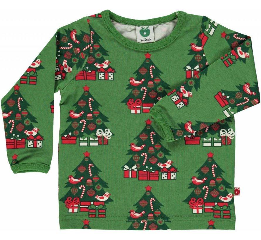 Smafolk kerst trui met kerstbomen