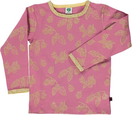 Smafolk T-shirt met raspberries mesa Rose