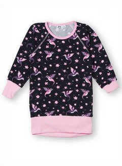 JNY JNY Cozy Tunic Hummingbird