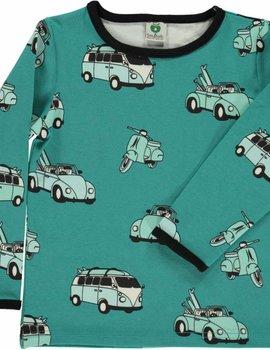 Smafolk Smafolk T-shirt auto Agate Green
