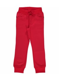 Maxomorra Maxomorra Pants Rib Twill RED
