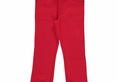 Maxomorra Maxomorra broek Rib Twill RED