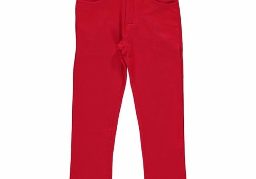 Maxomorra Maxomorra Softbroek Sweat RED