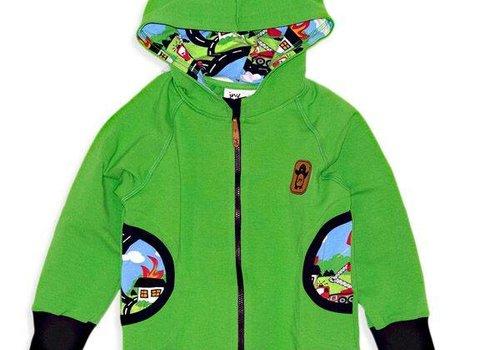 JNY JNY Cozy hood zip college Firetruck