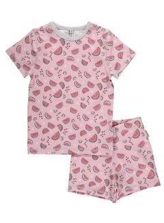 Maxomorra Maxomorra zomer pyjama set korte mouw WATERMELON LOVE