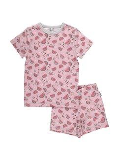 Maxomorra Maxomorra Pyjama Set SS WATERMELON LOVE