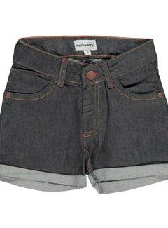 Maxomorra Maxomorra Pants Short Denim DARK DENIM BLUE