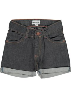 Maxomorra Maxomorra Pants Short Denim DARK DENIM BLUE