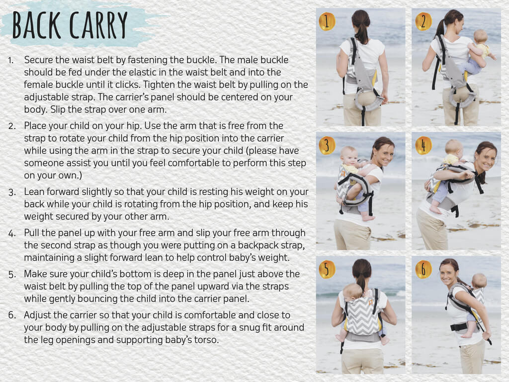 Pursue with a Tula baby carrier