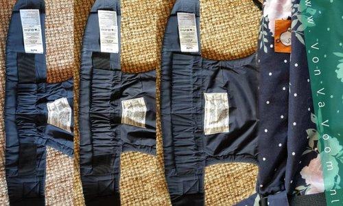 De 3 standen van de Tula free to grow draagzak, plus een tip voor bij de newborn stand.
