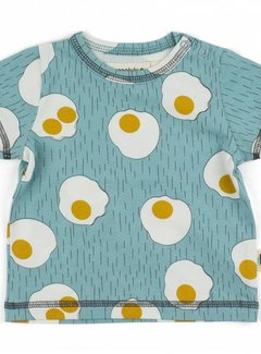 Onnolulu Onnolulu shirt emi EGGS JERSEY COTTON