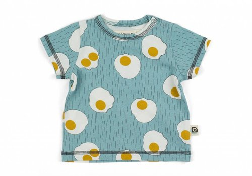 Onnolulu Onnolulu shirt emi EGGS JERSEY COTTON