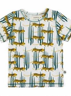 Onnolulu Onnolulu shirt emi TIGER JERSEY COTTON