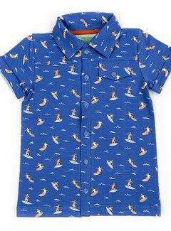 Lily Balou Lily Balou Shirt Jeff aop Surfers