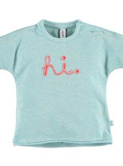 Babyface  Babyface baby girls t-shirt sh.sl. GREEN MELANGE