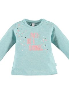 Babyface  Babyface baby girls t-shirt l.sl. GREEN MELANGE