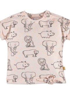 Babyface  Babyface baby girls t-shirt sh.sl. PEACH MELEE