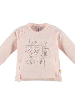 Babyface  Babyface baby girls t-shirt l.sl. PEACH MELEE