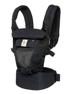 Ergobaby Ergobaby Adapt Cool Air Mesh - Onyx Black
