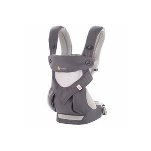 Erobaby draagzak 4P 360 Cool Air Carbon Grey