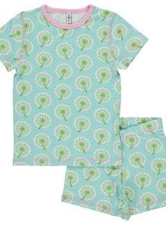 Maxomorra Maxomorra Pyjama Set SS DANDELION