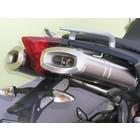 Spark Exhaust Technology DORSODURO 750 titanium silencers racing, open version.