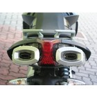 Spark Exhaust Technology DORSODURO 750 dark style dempers open versie