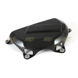 CDT Carbon Kohlefaser Kupplungabdeckung  für 1199 Panigale Strada, mit Kevlar verstärkt