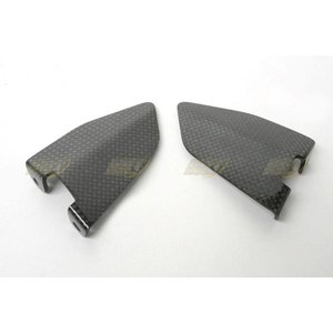 CDT Carbon PILLION RIDER HEEL GUARDS, PAIR for 749 and 999