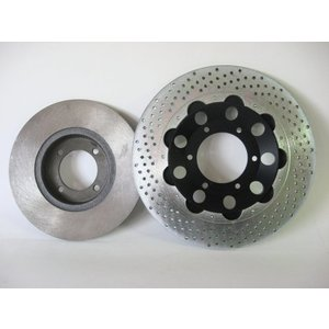 Discacciati Brake systems Brake discs for '70 and '80 bikes ,In stainless steel or cast iron Honda, Suzuki, Kawasaki, Yamaha etc