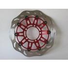 Discacciati Brake systems Vollschwimmende Scheibe Burgman AN 400 03-05 AN 650 -04 260 mm Durchmesser